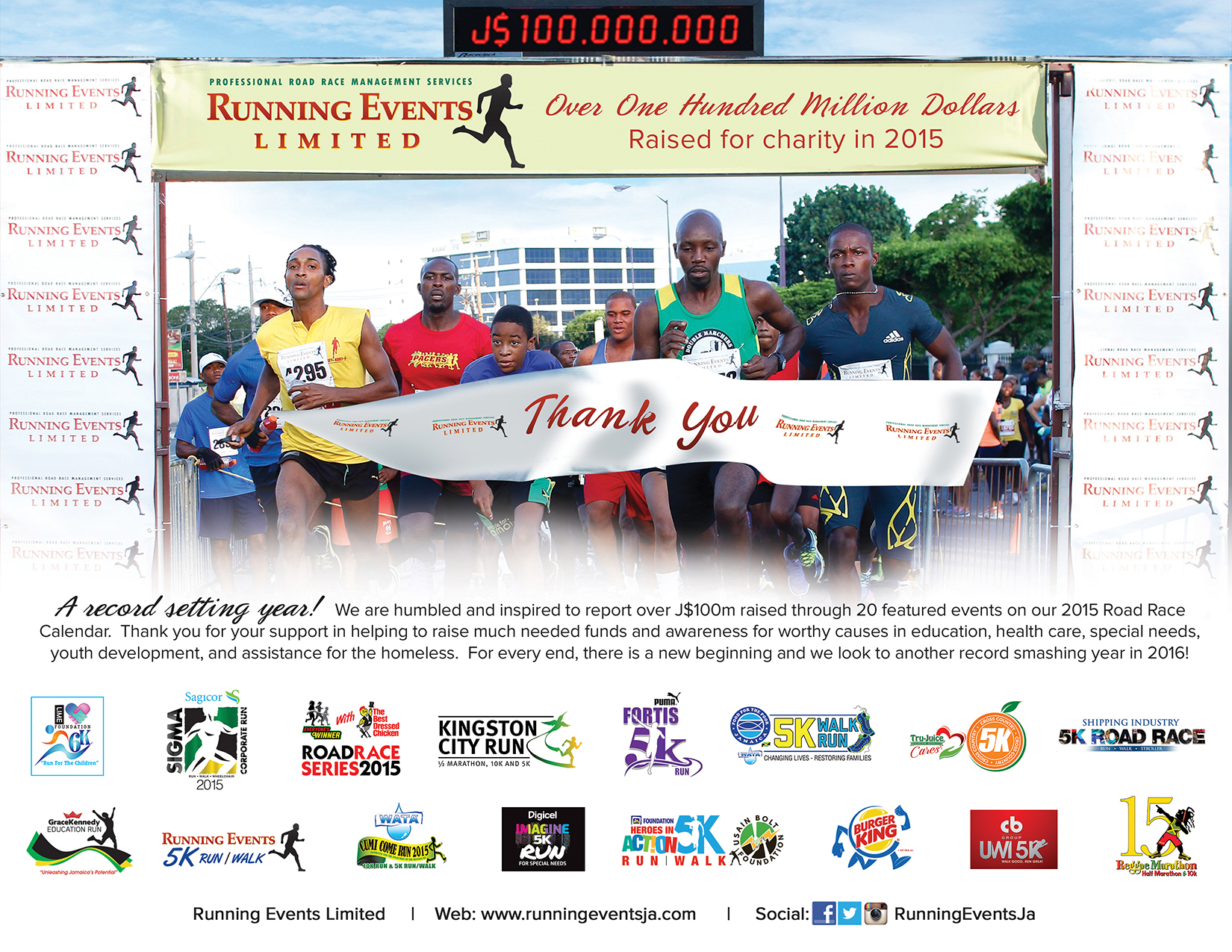 Running Events Jamaica